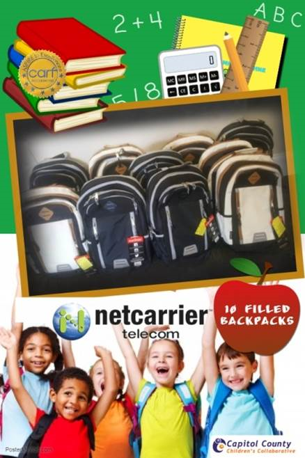 Netcarrier Telecom Backpack Drive