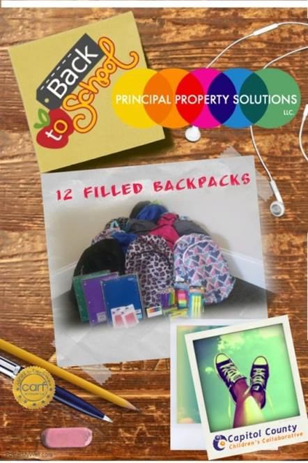 Principal Property Solutions Backpack Drive