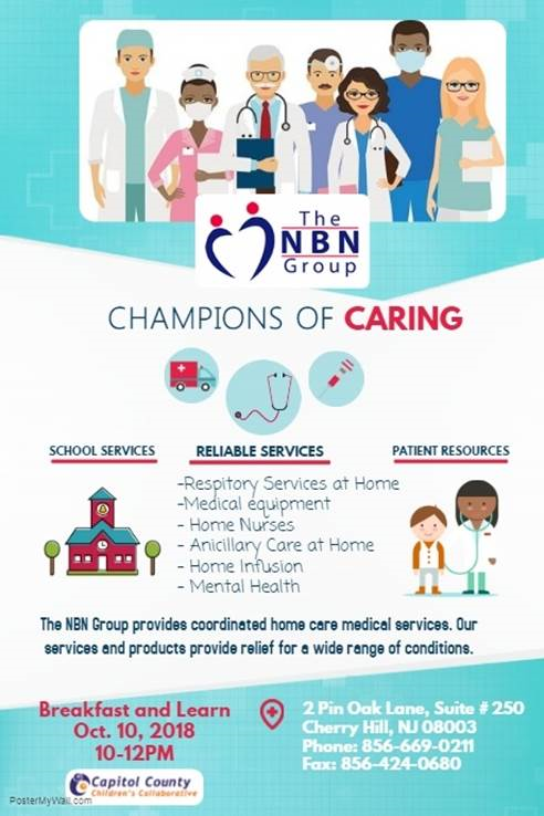 The NBN Group - Champions of Caring October 2018
