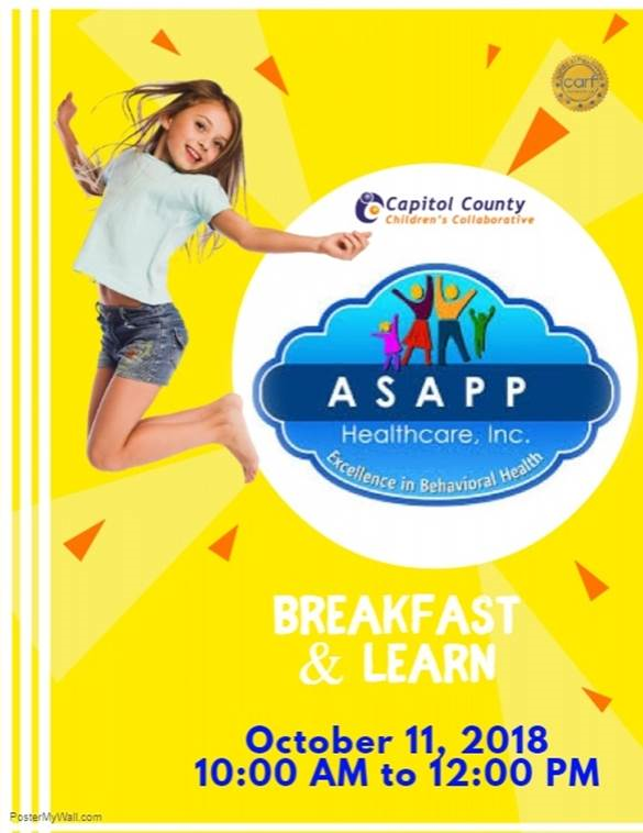ASAPP Healthcare Breakfast and Learn October 2018