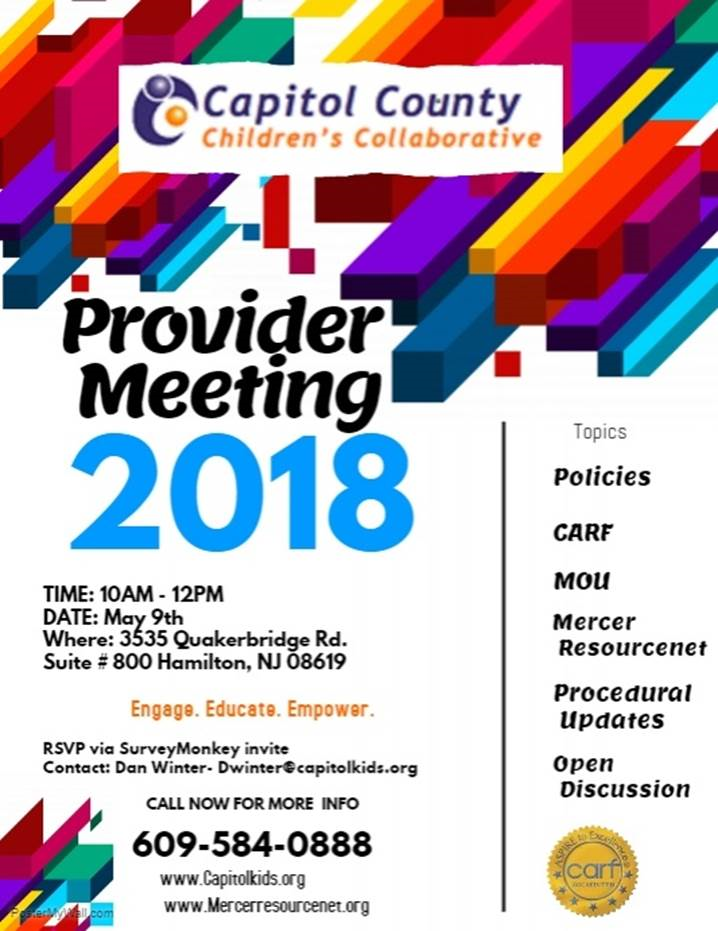 Provider Meeting 2018